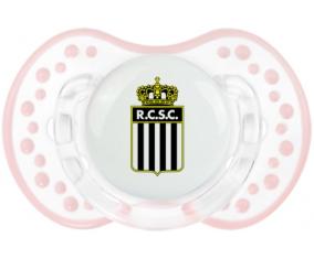 Royal Charleroi Sporting Club Sucete LOVI Dynamic Retro-blanc-rose-tendre classique