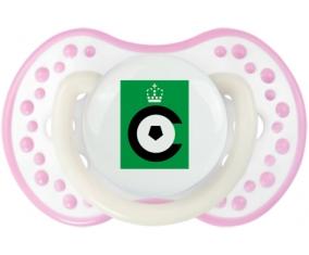 Cercle Bruges KSV Tétine LOVI Dynamic Blanc-rose phosphorescente