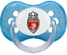 Royal Excel Mouscron Tétine Cerise Bleu à paillette