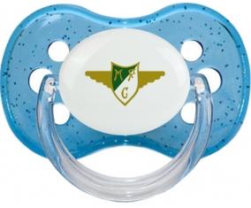 Moreirense Futebol Clube Tétine Cerise Bleu à paillette