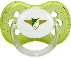 Moreirense Futebol Clube Tétine Cerise Vert à paillette