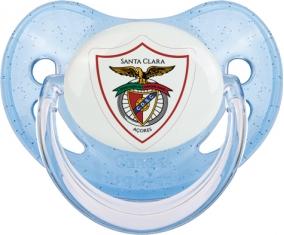Clube Desportivo Santa Clara Tétine Physiologique Bleue à paillette