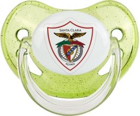 Clube Desportivo Santa Clara Tétine Physiologique Vert à paillette
