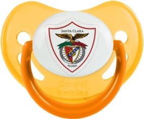 Clube Desportivo Santa Clara Tétine Physiologique Jaune phosphorescente
