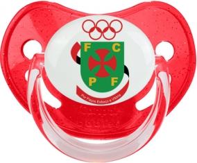 Futebol Clube Paços de Ferreira Tétine Physiologique Rouge à paillette