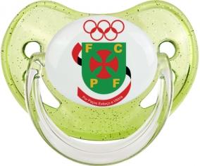 Futebol Clube Paços de Ferreira Tétine Physiologique Vert à paillette