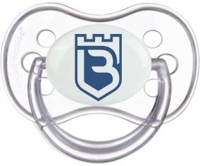 Belenenses SAD Tétine Anatomique Transparente classique