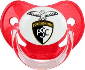 Portimonense Sporting Clube Tétine Physiologique Rouge à paillette
