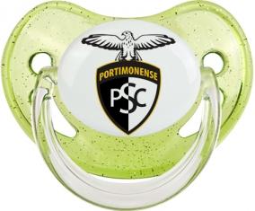 Portimonense Sporting Clube Tétine Physiologique Vert à paillette