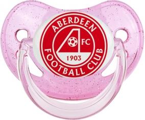 Aberdeen Football Club Sucette Physiologique Rose à paillette