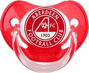 Aberdeen Football Club Sucette Physiologique Rouge à paillette