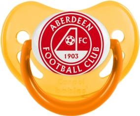 Aberdeen Football Club Sucette Physiologique Jaune phosphorescente