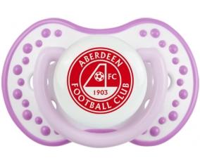 Aberdeen Football Club Sucette LOVI Dynamic Blanc-mauve classique