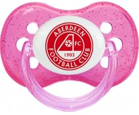 Aberdeen Football Club Sucette Cerise Rose à paillette