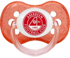 Aberdeen Football Club Sucette Cerise Rouge à paillette