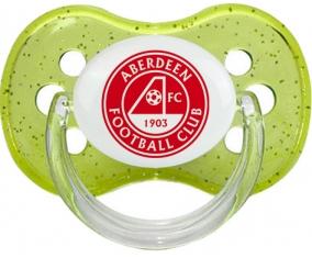 Aberdeen Football Club Sucette Cerise Vert à paillette