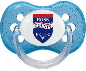 Ross County Football Club Tétine Cerise Bleu à paillette