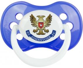 St Johnstone Football Club Tétine Anatomique Bleu classique