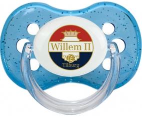 Willem II Tétine Cerise Bleu à paillette