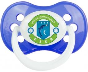 Croissant sportif chebbien Tétine Anatomique Bleu classique