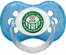 Étoile olympique de Sidi Bouzid Tétine Cerise Bleu à paillette