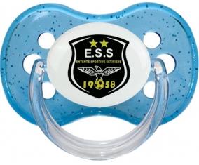 Entente sportive sétifienne Tétine Cerise Bleu à paillette
