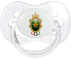 Association sportive des FAR Tétine Cerise Transparent classique