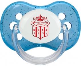 Hassania Union Sport d'Agadir Tétine Cerise Bleu à paillette