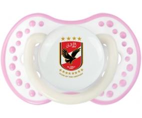 Al Ahly Sporting Club Tétine LOVI Dynamic Blanc-rose phosphorescente