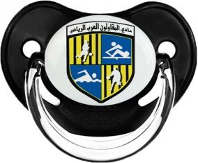 Arab Contractors Sporting Club Tétine Physiologique Noir classique