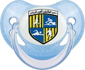 Arab Contractors Sporting Club Tétine Physiologique Bleue à paillette