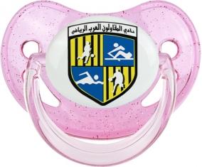 Arab Contractors Sporting Club Tétine Physiologique Rose à paillette