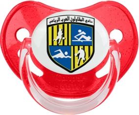Arab Contractors Sporting Club Tétine Physiologique Rouge à paillette