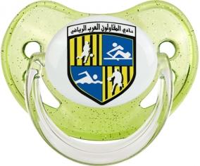 Arab Contractors Sporting Club Tétine Physiologique Vert à paillette