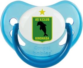 AS Vita Club Tétine Physiologique Bleue phosphorescente