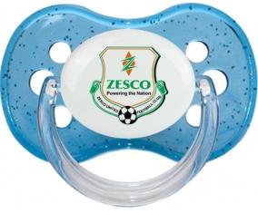 ZESCO United Football Club Sucette Cerise Bleu à paillette