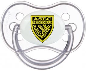 ASEC Mimosas Tétine Anatomique Transparente classique