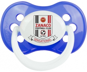Zanaco Football Club Tétine Anatomique Bleu classique