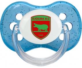 Djoliba Athletic Club Tétine Cerise Bleu à paillette