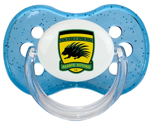 Asante Kotoko Sporting Club Tétine Cerise Bleu à paillette