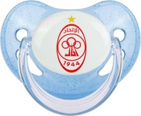 Al-Ittihad Tripoli Tétine Physiologique Bleue à paillette