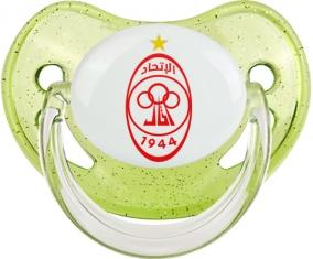 Al-Ittihad Tripoli Tétine Physiologique Vert à paillette