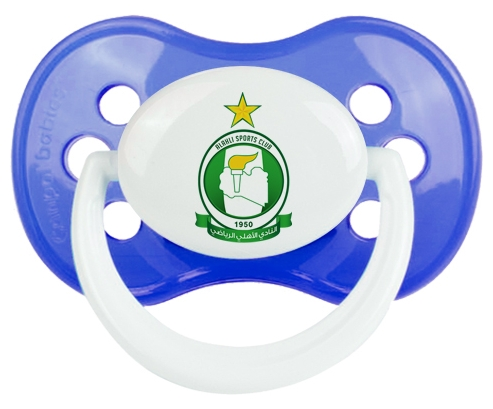 Al Ahli Sporting Club Sucette Anatomique Bleu classique