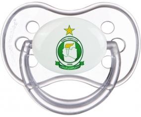 Al Ahli Sporting Club Sucette Anatomique Transparente classique