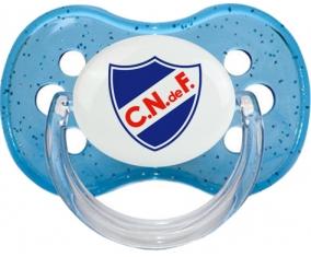Club Nacional de Football Tétine Cerise Bleu à paillette