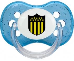 Club Atlético Peñarol Tétine Cerise Bleu à paillette