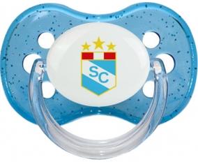 Club Sporting Cristal Péru Tétine Cerise Bleu à paillette