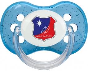 Kuwait Sporting Club Tétine Cerise Bleu à paillette