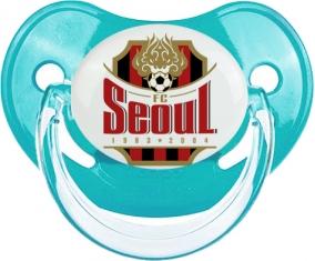 Football Club Séoul South Korea Tétine Physiologique Bleue classique