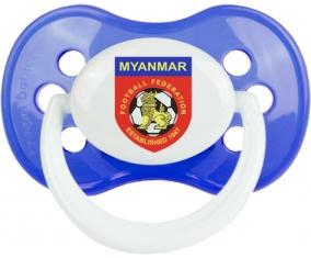 Myanmar national football team Tétine Anatomique Bleu classique
